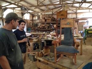 Arron & Daniel Sanchez in their workshop